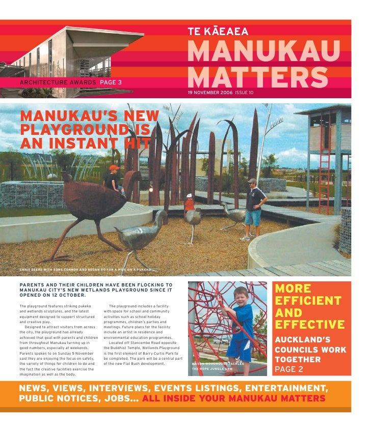 Manukau matters issue 10 2006