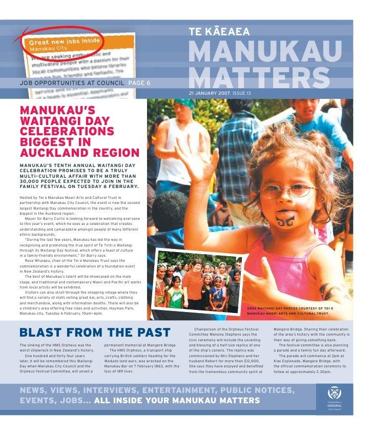 Manukau matters issue 13 2007
