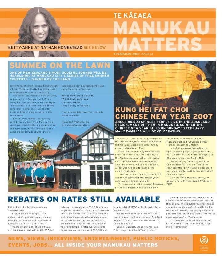 Manukau matters issue 14 2006