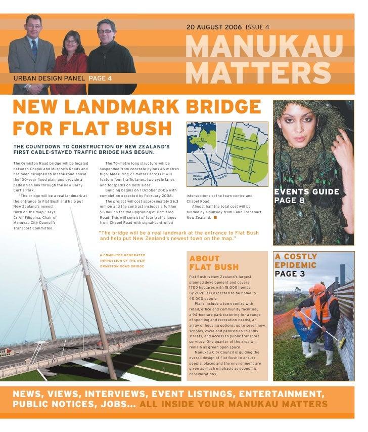 Manukau matters issue 4 2006