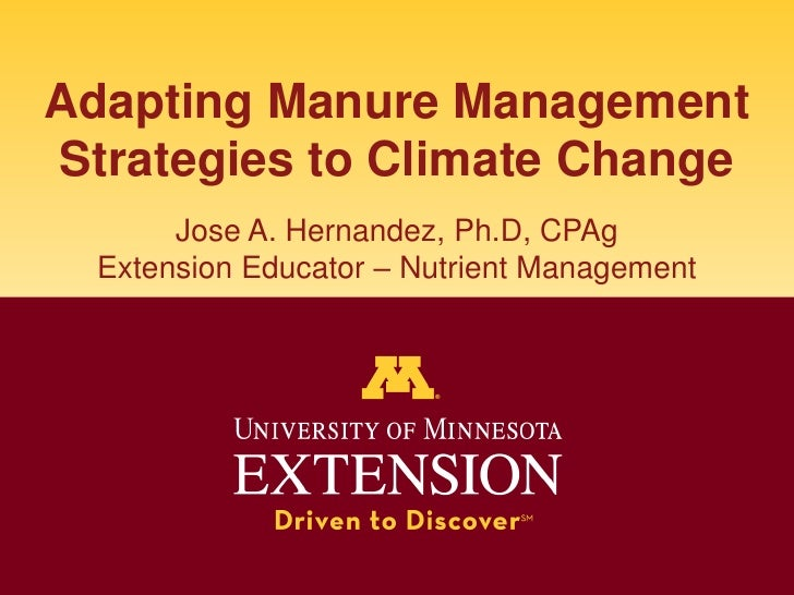 Manure Management and Climate Change