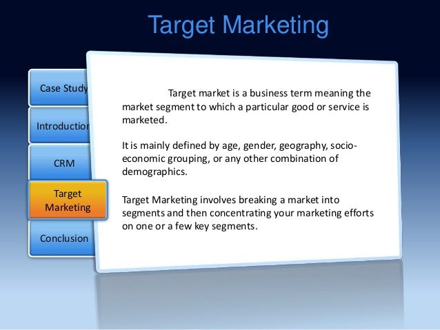 marketing case on target Target corporation case solution,target corporation case analysis, target corporation case study solution, this case puts students in the role of cfo target corporation, as he believes, the pros and cons of capital investment proposals.