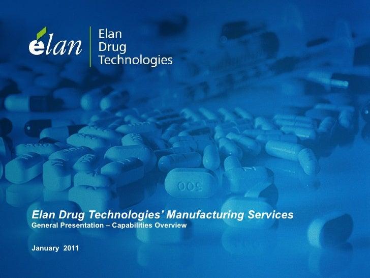 Elan Manufacturing Services