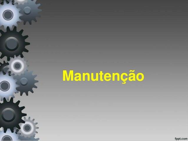 Manutenção