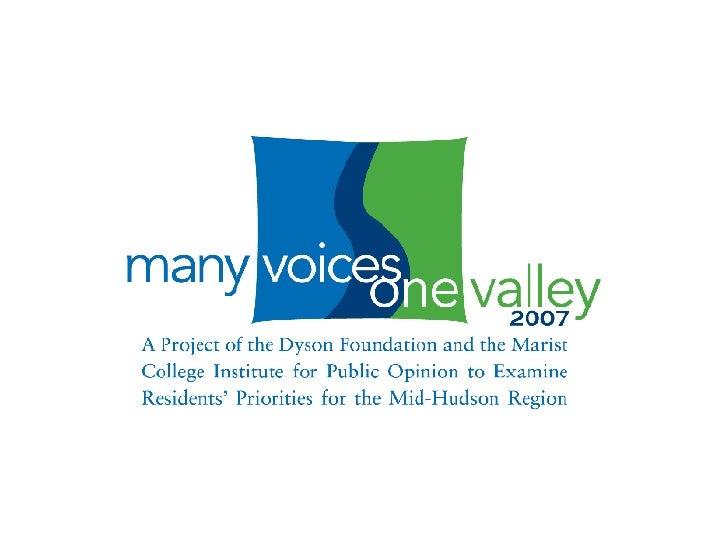 Many Voices One Valley 2007