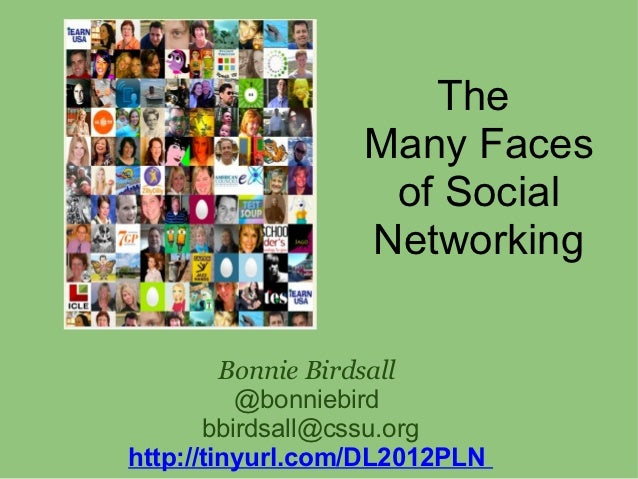 Many faces of_social_networking