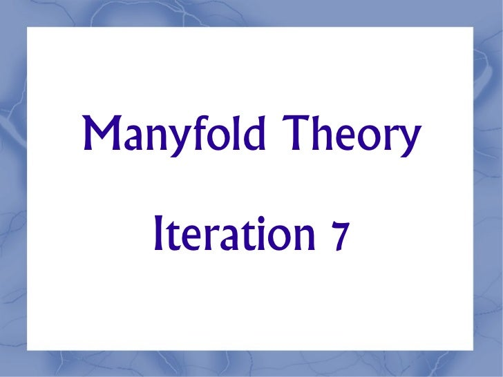 Manyfold7