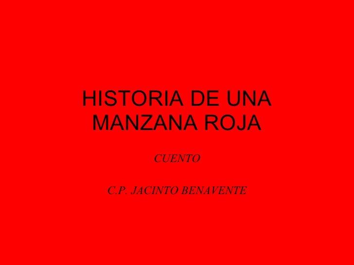 HISTORIA DE UNA MANZANA ROJA