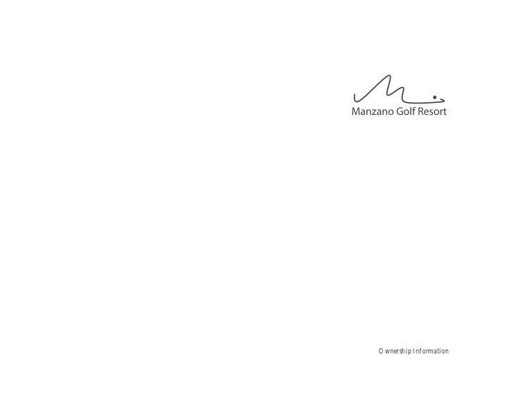 Manzano Ownership Pricing Info Mar 21 2011