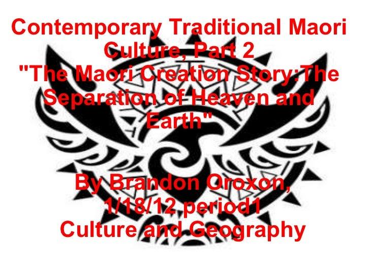 Maori creation story_part_2