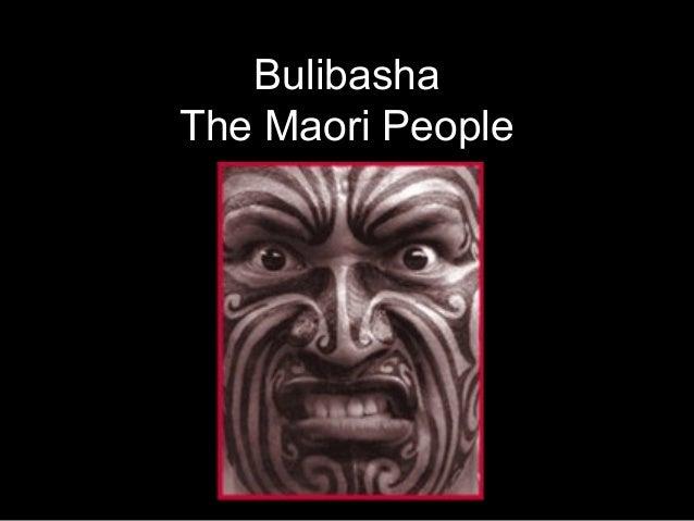 BulibashaThe Maori People