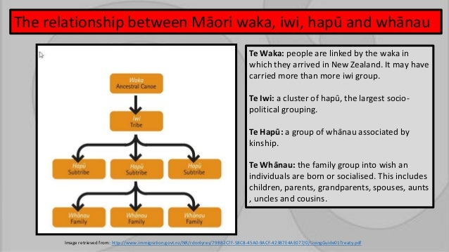 Maori Tribal Structure in the Nelson Region