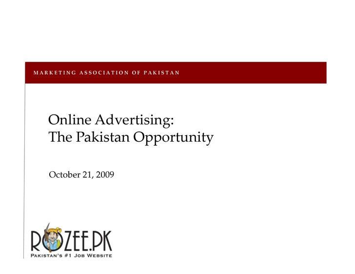ROZEE.PK - Marketing Association of Pakistan