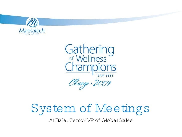 Map system of meetings