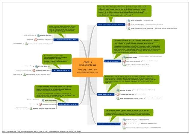 Cobit 5 - roadmap de implementação
