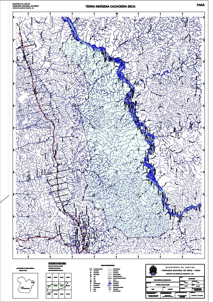 Mapa cach seca novo
