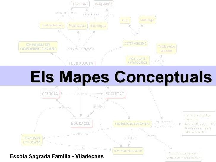 Els Mapes Conceptuals Escola Sagrada Família - Viladecans