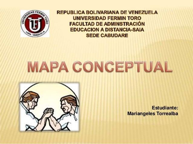 Estudiante: Mariangeles Torrealba