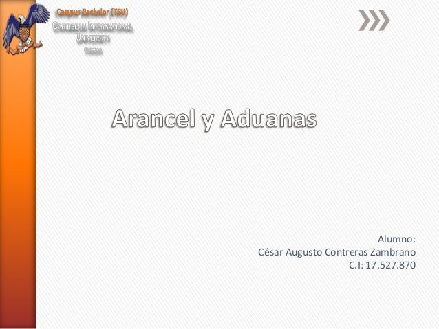 Mapa conceptual nomenclatura arancelaria