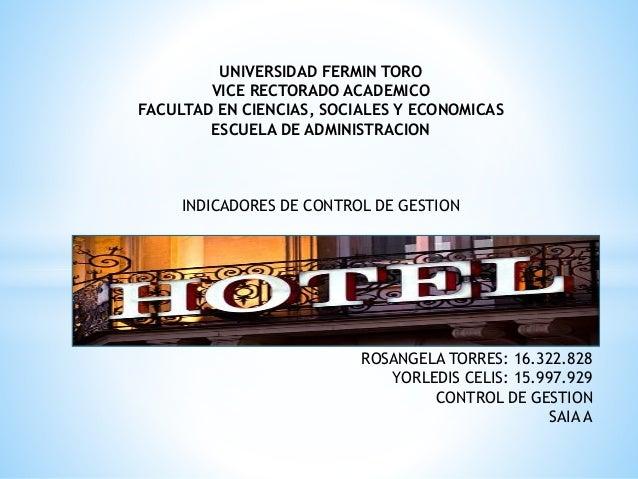 UNIVERSIDAD FERMIN TORO VICE RECTORADO ACADEMICO FACULTAD EN CIENCIAS, SOCIALES Y ECONOMICAS ESCUELA DE ADMINISTRACION IND...