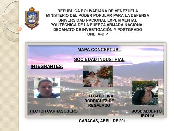 REPÚBLICA BOLIVARIANA DE VENEZUELAMINISTERIO DEL PODER POPULAR PARA LA DEFENSAUNIVERSIDAD NACIONAL EXPERIMENTALPOLITÉCNICA...