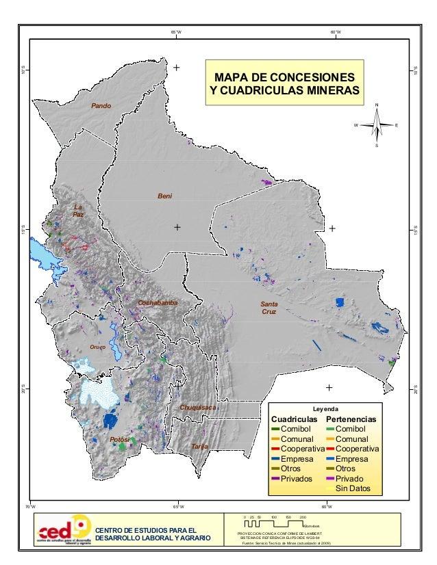 Mapa concesiones cuadriculas-mineras-bolivia 2009