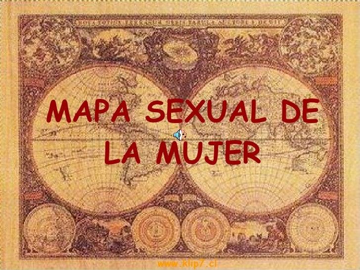 Mapa Sexual del hombre y mujer