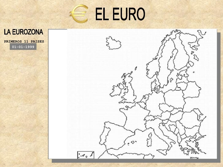 EL EURO LA EUROZONA PRIMEROS 11 PAISES 01-01-1999