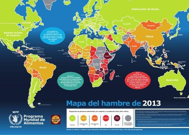 Mapa del hambre 2013
