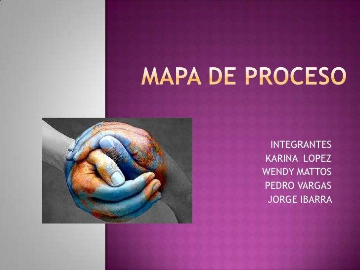 Mapa De Proceso Rastreo