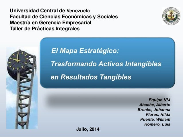 Universidad Central de Venezuela Facultad de Ciencias Económicas y Sociales Maestría en Gerencia Empresarial Taller de Prá...