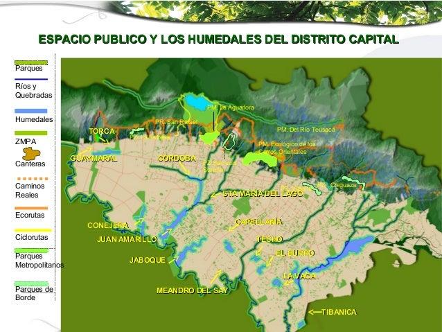 PM. La AguadoraPR.Río TeusacáPM. Ecológico de losCerros OrientalesPZ. VitelmaPZ.San LuisSureñaPZ. ChiguazaPZ. La EstrellaP...