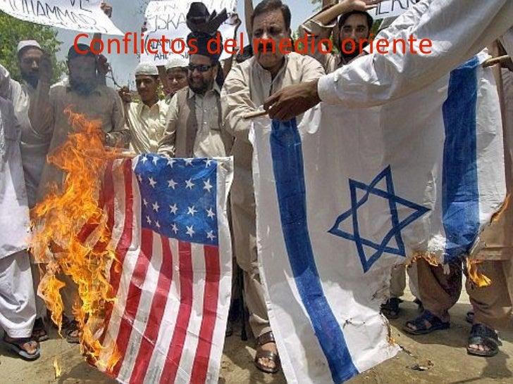 Conflictos del medio oriente