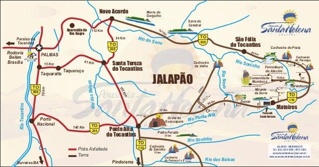 Mapa do Jalapão
