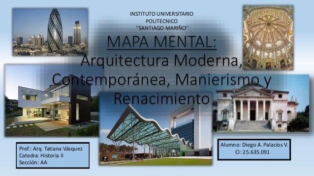 Historia de la arquitectura ii moderno contempor neo for Caracteristicas de la arquitectura