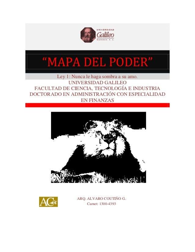 Mapa Poder