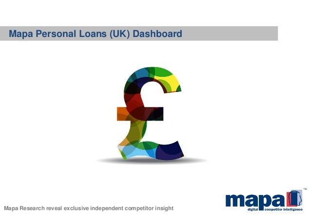 Mapa Personal Loans (UK) Dashboard Mapa Research reveal exclusive independent competitor insight