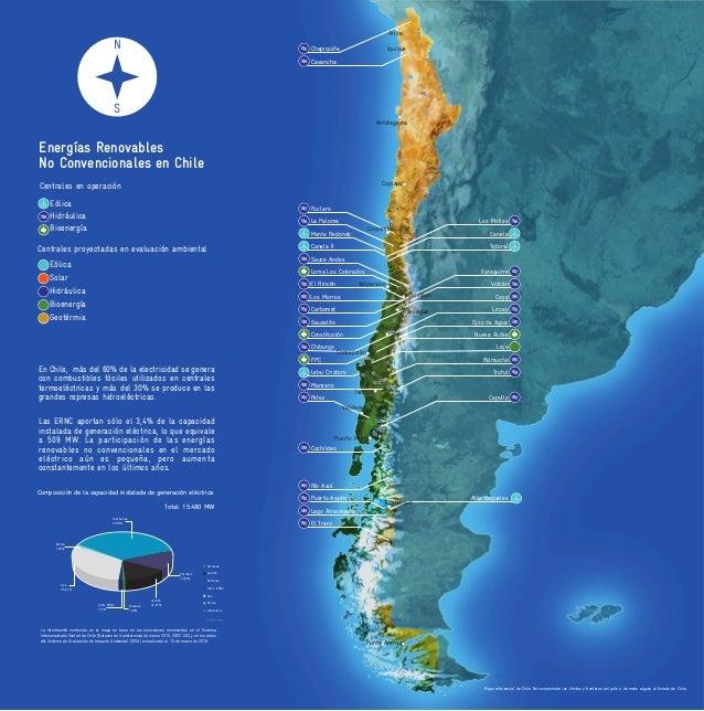Eólica Hidráulica Bioenergía Centrales en operación Las ERNC aportan sólo el 3,4% de la capacidad instalada de generación ...