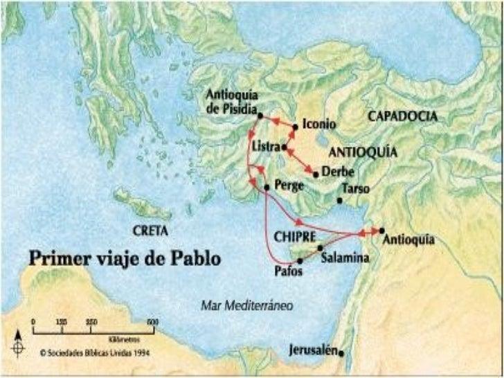 Mapas biblicos for Cuarto viaje de pablo