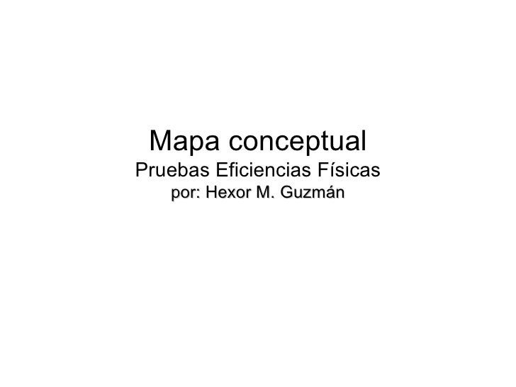 mapas conceptuales aptitud física
