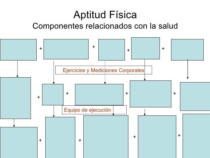 Aptitud Fisica Aptitud Física Componentes