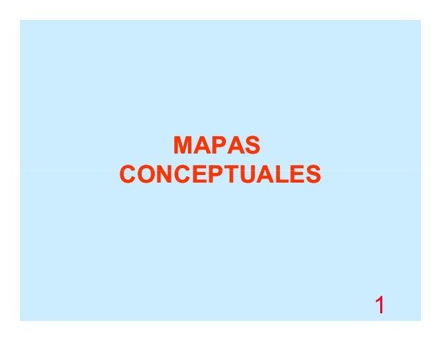 MAPAS CONCEPTUALES  1
