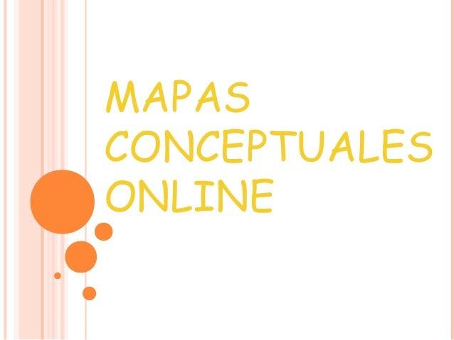 Mapas conceptuales online