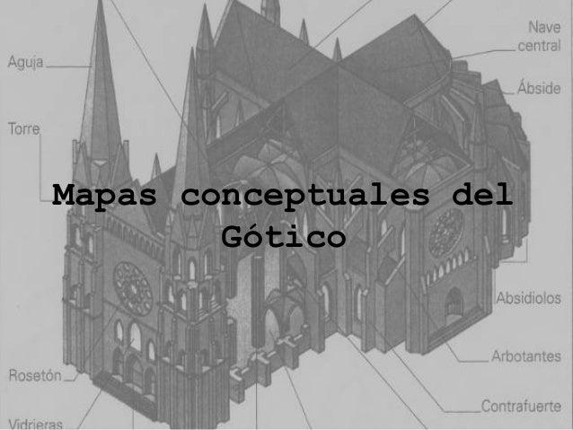 Mapas conceptuales del Gótico