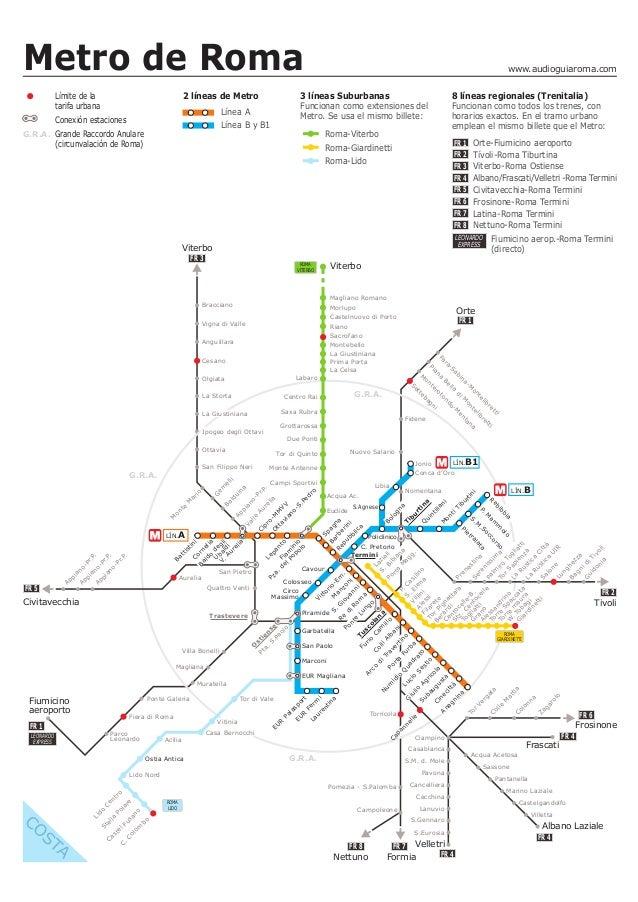 Baños Roma Teatro Linea De Sombra:metro de roma límite de la tarifa urbana 2 líneas