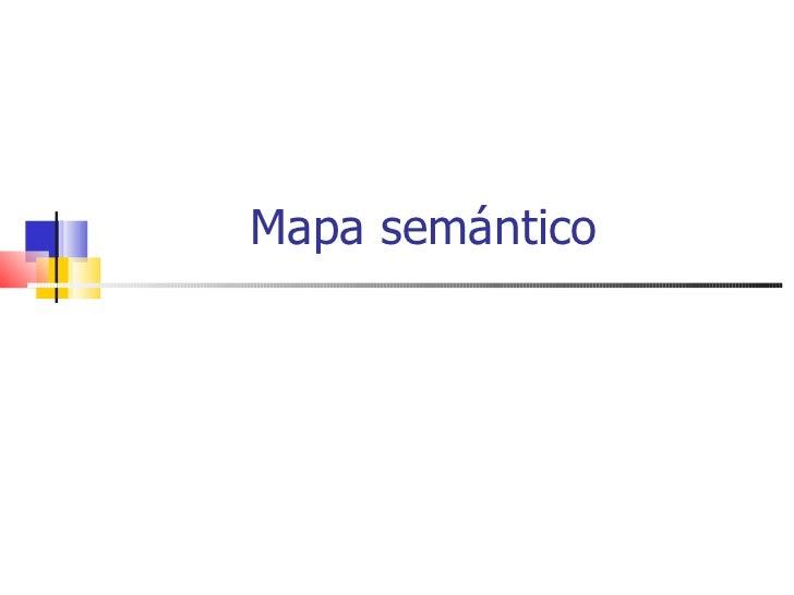 Mapa semántico