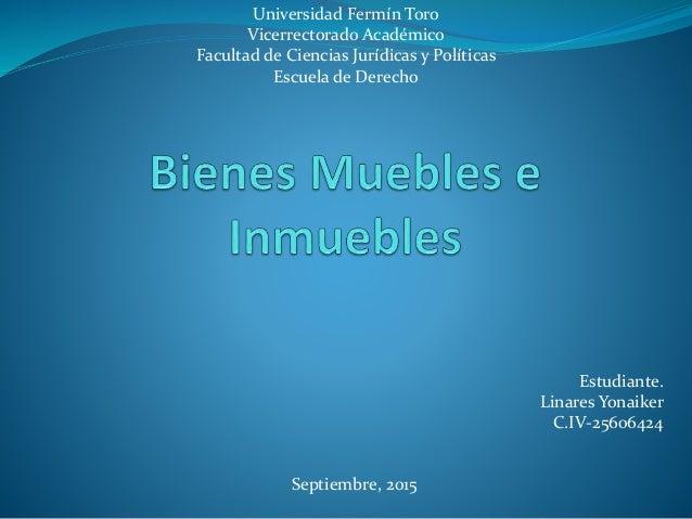 Universidad Fermín Toro Vicerrectorado Académico Facultad de Ciencias Jurídicas y Políticas Escuela de Derecho Estudiante....