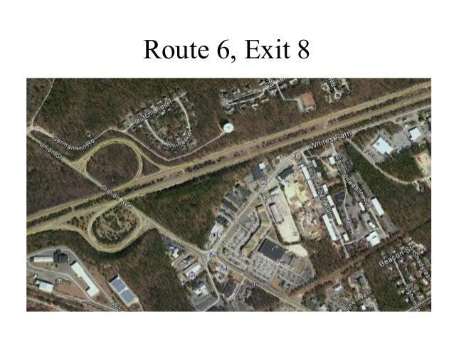 Route 6, Exit 8