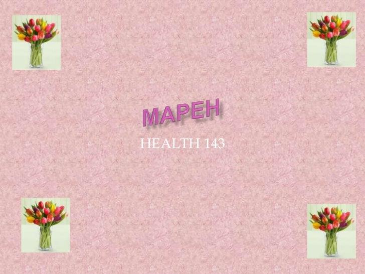 HEALTH 143