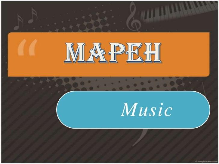 Mapeh music